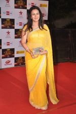 Poonam Dhillon at Big Star Awards red carpet in Mumbai on 16th Dec 2012 (184).JPG