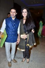 Rukhsar at Durga jasraj_s daughter Avani_s wedding reception with Puneet in Mumbai on 16th Dec 2012 (102).JPG