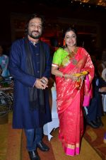 Sonali Rathod, Roop Kumar Rathod at Durga jasraj_s daughter Avani_s wedding reception with Puneet in Mumbai on 16th Dec 2012 (124).JPG