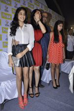 Boney Kapoor, Sridevi, Khushi Kapoor, Jhanvi Kapoor at People_s magazine cover launch in Bandra, Mumbai on 17th Dec 2012 (38).JPG