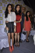 Boney Kapoor, Sridevi, Khushi Kapoor, Jhanvi Kapoor at People_s magazine cover launch in Bandra, Mumbai on 17th Dec 2012 (41).JPG