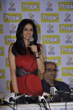 Sridevi at People_s magazine cover launch in Bandra, Mumbai on 17th Dec 2012 (76).JPG