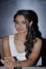 Andrea Jeremiah at Vishwaroop press meet in J W Marriott, Mumbai on 18th Dec 2012 (53).JPG