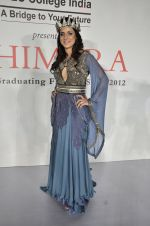 Simple Kaul at Chimera fashion show of WLC College in Mumbai on 18th Dec 2012 (423).JPG