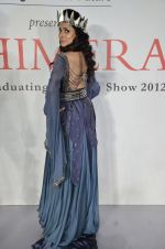 Simple Kaul at Chimera fashion show of WLC College in Mumbai on 18th Dec 2012 (426).JPG