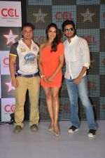 Bipasha Basu, Sohail Khan, Ritesh Deshmukh  announced as the CCL_s brand ambassador in Novotel, Mumbai on 19th Dec 2012 (34).JPG