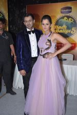 Sania Mirza, Shoaib Malik for Nach Baliye 5 in Filmistan, Mumbai on 19th Dec 2012 (79).JPG
