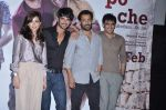 Amit Sadh, Amrita Puri, Sushant Singh Rajput, Abhishek Kapoor at kai po che trailor launch in Cinemax, Mumbai on 20th Dec 2012 (70).JPG