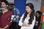 Tena Desae, Rajeev Khandelwal at the Audio release of Table No. 21 in Radio City 91.1 FM, Mumbai on 20th Dec 2012 (51).JPG