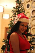 Veena Malik Celebrating Christmas on 20th Dec 2012 (24).JPG