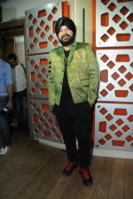 Daler Mehndi at the song recording of Sunil Agnihotri_s film Balwinder Singh Famous Ho in Mumbai on 23rd Dec 2012 (2).JPG