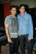Kummarr  with Sunil Agnohotri  at the song recording of Sunil Agnihotri_s film Balwinder Singh Famous Ho in Mumbai on 23rd Dec 2012.JPG