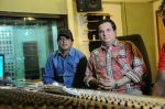 Lalit Pandit with Sunil Agnihotri at the song recording of Sunil Agnihotri_s film Balwinder Singh Famous Ho in Mumbai on 23rd Dec 2012.JPG