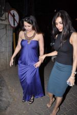Malaika Arora Khan, Amrita Arora at Midnight Mass in Bandra, Mumbai on 24th Dec 2012 (27).JPG