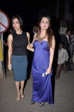 Malaika Arora Khan, Amrita Arora at Midnight Mass in Bandra, Mumbai on 24th Dec 2012 (23).JPG