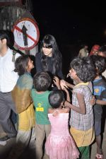 Sherlyn Chopra at Midnight Mass in Bandra, Mumbai on 24th Dec 2012 (57).JPG
