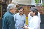 Naseeruddin Shah,Salim Arif and Vishal Bhardwaj at Salim Arif_s 2 days show at prithvi theatre in Mumbai on 23rd Dec 2012.JPG