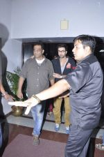 Ranbir Kapoor, Anurag Basu at Tata Memorial Hospital with cancer patients in Parel, Mumbai on 25th Dec 2012 (66).JPG