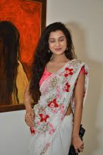 Surbhi Shukla at Bharat Tripathi_s exhibition in Mumbai on 25th Dec 2012 (64).JPG