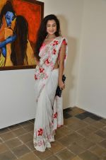 Surbhi Shukla at Bharat Tripathi_s exhibition in Mumbai on 25th Dec 2012 (65).JPG