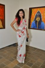 Surbhi Shukla at Bharat Tripathi_s exhibition in Mumbai on 25th Dec 2012 (69).JPG