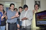 Anil Kapoor, Mithun Chakraborty launch the website of CINTAA in Andheri, Mumbai on 27th Dec 2012 (33).JPG