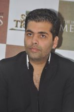 Karan Johar launches the Cover of Amish_s eagerly anticipated 3rd book in the Shiva Trilogy, The Oath of the Vayuputras in Mumbai on 27th Dec 2012 (7).JPG
