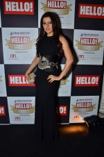 Kehkashan Patel at red carpet of Hello Hall of Fame Awards in Mumbai on 27th Dec 2012 (48).JPG