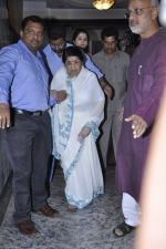 Lata Mangeshkar calendar launch in Peddar Road, Mumbai on 27th Dec 2012 (1).JPG