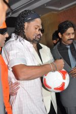 Ronaldinho unveils Balaji entertainment_s R10 movie in Pune, Mumbai on 28th Dec 2012 (25).JPG