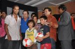 Ronaldinho unveils Balaji entertainment_s R10 movie in Pune, Mumbai on 28th Dec 2012 (21).JPG