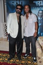 Ronaldinho unveils Balaji entertainment_s R10 movie in Pune, Mumbai on 28th Dec 2012 (36).JPG