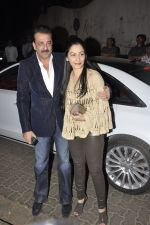 Sanjay Dutt, Manyata Dutt at Bunty Walia_s wedding reception bash in Olive on 28th Dec 2012 (42).JPG