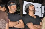Ehsaan Noorani, Sonu Nigam at the peace march for the Delhi victim in Mumbai on 29th Dec 2012 (259).JPG