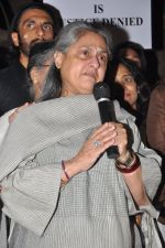 Jaya Bachchan at the peace march for the Delhi victim in Mumbai on 29th Dec 2012 (246).JPG