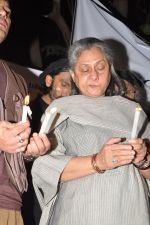 Jaya Bachchan at the peace march for the Delhi victim in Mumbai on 29th Dec 2012 (250).JPG