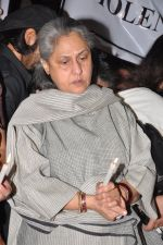 Jaya Bachchan at the peace march for the Delhi victim in Mumbai on 29th Dec 2012 (252).JPG