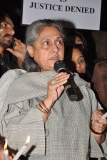 Jaya Bachchan at the peace march for the Delhi victim in Mumbai on 29th Dec 2012 (255).JPG