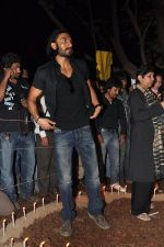 Ranveer Singh at the peace march for the Delhi victim in Mumbai on 29th Dec 2012 (212).JPG