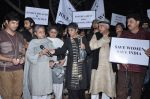 Shabana Azmi, Javed AKhtar, Jaya Bachchan at the peace march for the Delhi victim in Mumbai on 29th Dec 2012 (170).JPG
