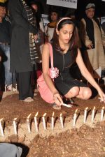 Shweta Pandit at the peace march for the Delhi victim in Mumbai on 29th Dec 2012 (212).JPG