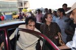 Dilip Kumar with Saira Banu leaves for Hajj in Mumbai Airport on 2nd Jan 2013 (5).JPG