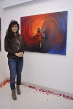 Manisha Kelkar at Sunita Wadhwan art event in Jehangir art gallery on 2nd Jan 2013 (13).JPG