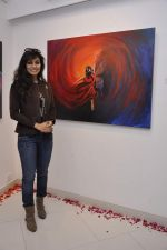 Manisha Kelkar at Sunita Wadhwan art event in Jehangir art gallery on 2nd Jan 2013 (14).JPG