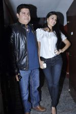 Sajid Khan, Jacqueline Fernandez at Balak Palak premiere hosted by Reitesh Deshmukh in PVR, Mumbai on 2nd Jan 2013 (9).JPG