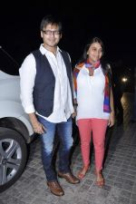 Vivek Oberoi, Priyanka Alva at Balak Palak premiere hosted by Reitesh Deshmukh in PVR, Mumbai on 2nd Jan 2013 (30).JPG