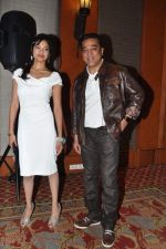 Kamal Haasan, Pooja Kumar at Vishwaroop promotions with Videocon in J W Marriott, Mumbai on 4th Jan 2013 (6).JPG