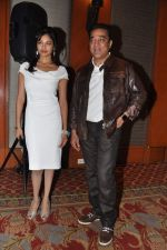 Kamal Haasan, Pooja Kumar at Vishwaroop promotions with Videocon in J W Marriott, Mumbai on 4th Jan 2013 (9).JPG