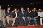 Rajpal Yadav, Gulshan Grover, Chunky Pandey at Police show Umang in Mumbai on 5th Jan 2013 (12).JPG