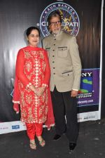 Sunmeet Kaur, Amitabh Bachchan wins 5 crores on the sets of Kaun Banega Crorepati in Mumbai on 5th Jan 2013 (49).JPG